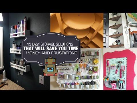15 Storage solution and DIY organization ideas #1