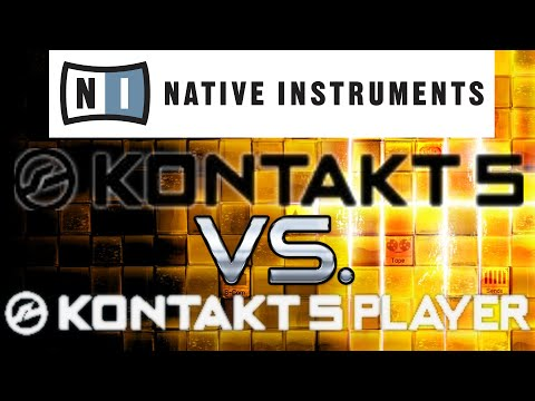 Kontakt 5 Full Version vs Kontakt Free Player