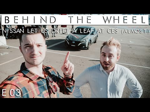 Sony made a car, and other CES 2020 fun | Behind the Wheel S02 // EP03
