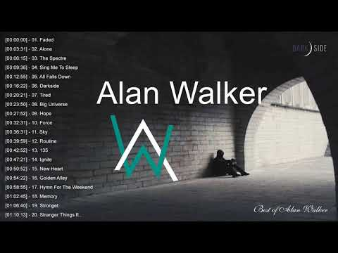 New Songs Alan Walker 2019 Top 20 Alan Walker Songs 2019