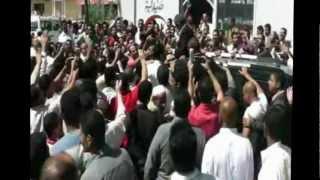 مسيرة حاشدة لعمرو موسى من ابو المطامير لكفر الدوار