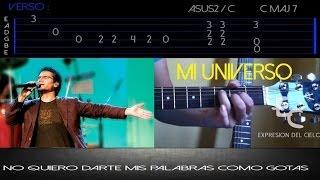 """ QUE SEAS MI UNIVERSO ""- Jesus Adrian Romero - Tutorial de Guitarra Acústica"