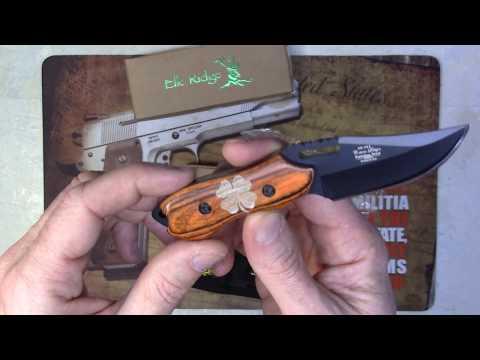 Elk Ridge ER-562WD Fixed Blade Knife Engraved Knife By NDZ - Gift Ideas