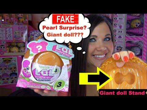 FAKE Pearl Surprise Fake LOL Surprise Big surprise Custom Big surprise LOL Series 3 wave 2 boy doll