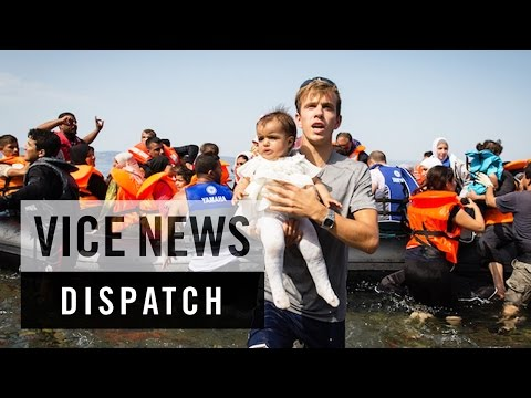 Migrants and Refugees Test Lesbos