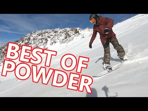 BEST OF POWDER SNOWBOARDING IN CALIFORNIA
