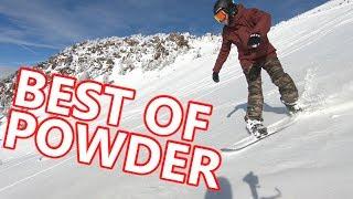 BEST OF POWDER SNOWBOARDING IN CALIFORNIA