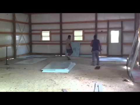 Concrete Tech Finish Floor Radiant Heat Youtube