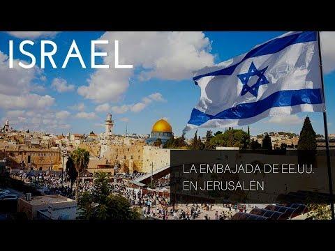 Israel: La embajada de EE.UU. en Jerusalén sería inaugurada en mayo de 2018