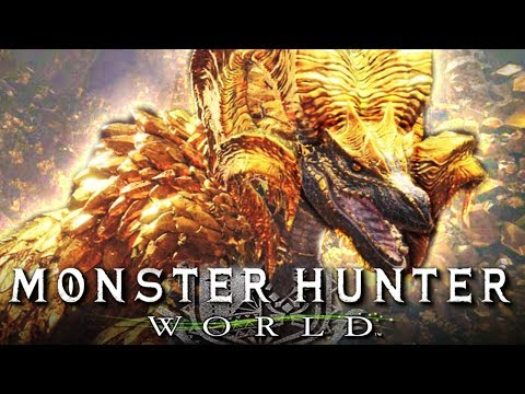 Der Drache aus purem Gold, KULVE TAROTH! | MONSTER HUNTER WORLD