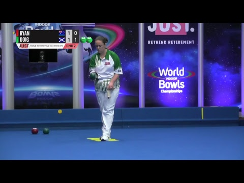 JUST 2018 World Indoor Bowls Championships: Session 23