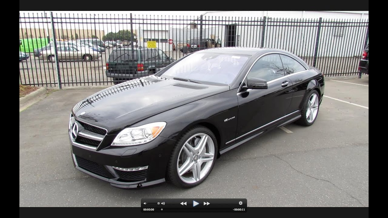 2012 mercedes benz cl63 amg start up exhaust and in. Black Bedroom Furniture Sets. Home Design Ideas