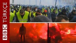 Sarı yelekliler protestoları Fransa'nın dışına yayılır mı?