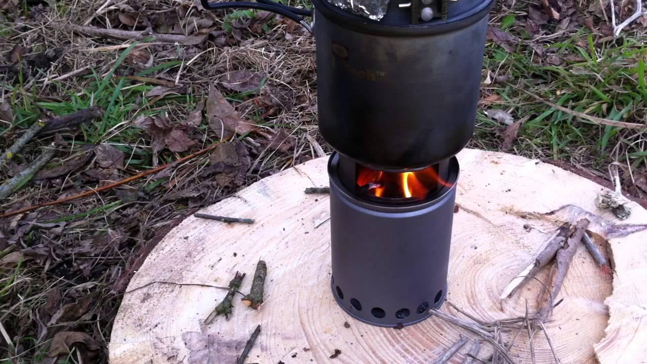 Favorit Outdoor-Holzvergaser 2.0 (Teil1): erstes Anheizen mit Holz (HD QS58