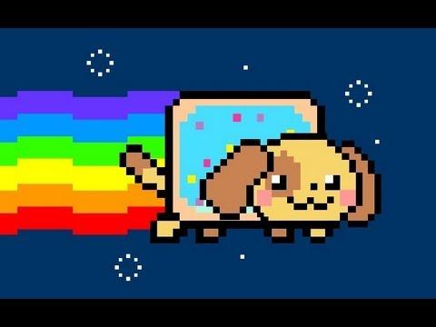 Nyan Dogs! (Looped Version) - YouTube Nyan Dog