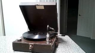 1940 Take Sides With Jehovah Song Singing Phonograph Music