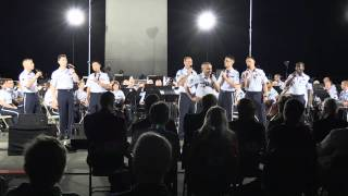 Air Force Trilogy - comedy song by the USAF Singing Sergeants