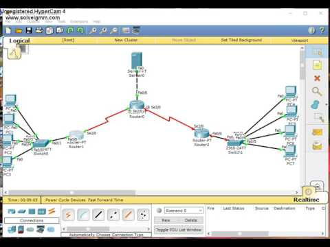 how to configure dhcp,web server and dns server in packet tracer
