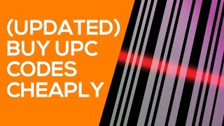 Cheap Way to Buy UPC Codes for Amazon - List items without Barcodes (UPDATED)