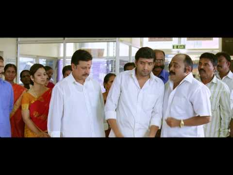 Vanavarayan Vallavarayan Tamil Movie Scenes   Santhanam Hilarious Comedy Scene in Climax