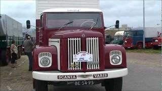 Oldtimer vrachtwagens in Vlissingen