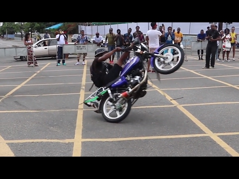 BIKE SHOW STUNT FUSION 2017 Kingston, Jamaica