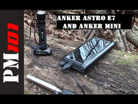 Anker Astro E7 And Astro Mini: Dependable Portable Power  - Preparedmind101