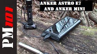Anker Astro E7 And Astro Mini: Dependable Portable Power  - Preparedmind101