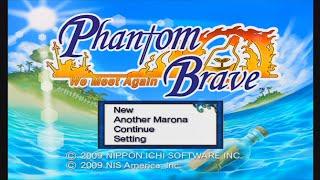 Phantom Brave: We Meet Again - Title Screen