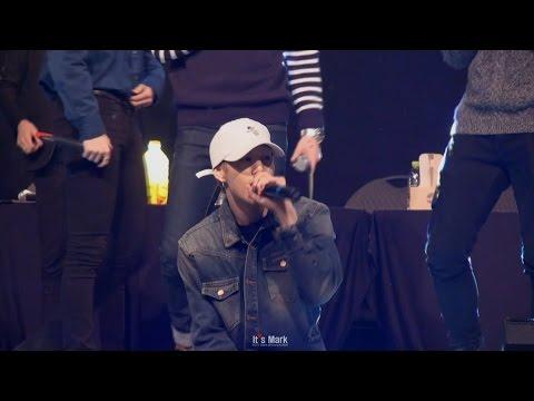 [FANCAM] 151213 상암팬싸인회 GOT7 - 고백송 LIVE (Mark focus)