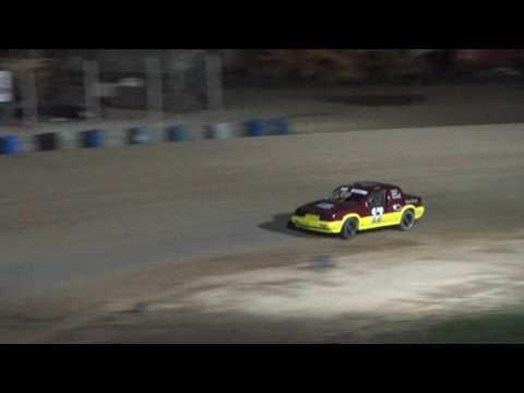 16. Flinn Stock Heat Race #1 at Crystal Motor Speedway, 04-15-17