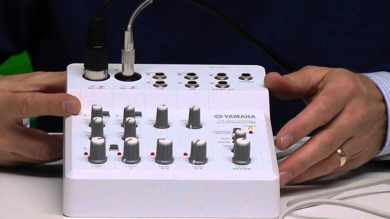 Usb Audio Interface Yamaha : yamaha audiogram6 usb audio interface review youtube ~ Hamham.info Haus und Dekorationen
