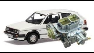 carburador weber 32/36 en golf mk2 parte 2