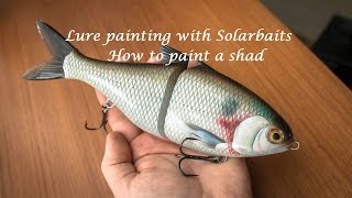 Lure Painting How To Paint A Shad