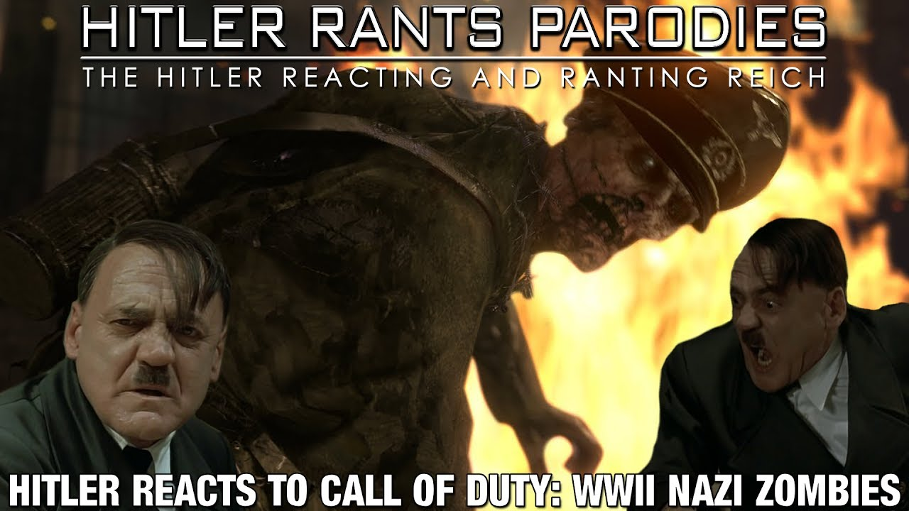 Hitler reacts to Call of Duty: WWII Nazi Zombies