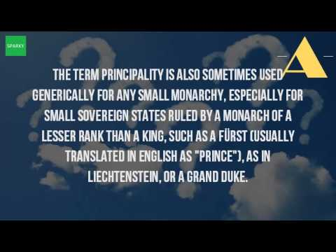 What Is A Principality Of A Country?