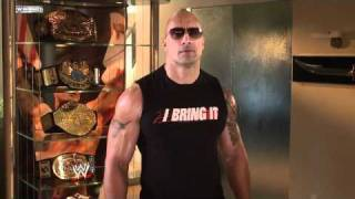 WWE Superstars: The Rock responds to John Cena on Raw
