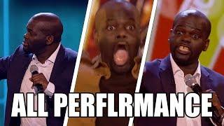 Daliso Chaponda Funniest Comedian Britain's Got Talent 2017 ALL Performances GTF