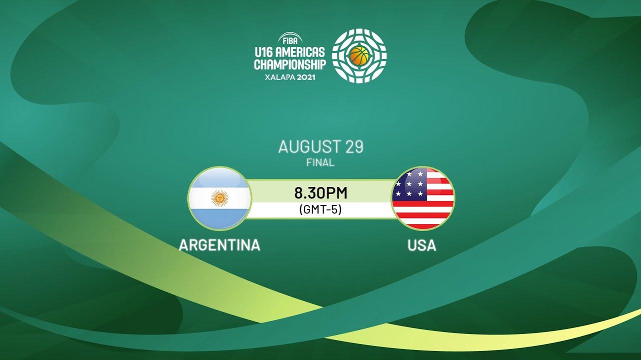 Download FINAL: Argentina v USA | Full Game - FIBA U16 Americas Championship 2021