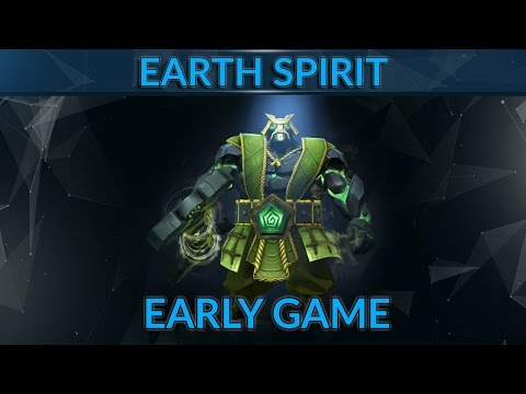Earth Spirit Guide by 7.3k MMR Pro | Early Game as Earth Spirit | Dota 2 Guide