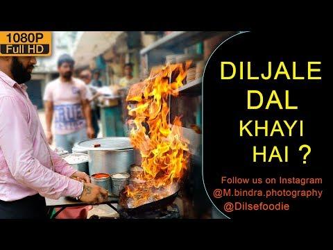Dal Tadka And Chicken Curry At Sareen Dhaba, Shankar Market