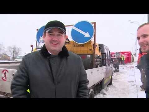 Авария за аварией: снегопад в Подмосковье устроил на дорогах коллапс