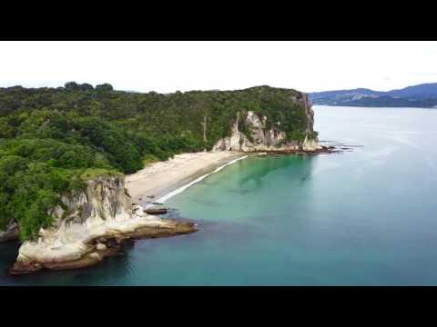 Whitianga, The Coromandel, New Zealand Shot In 4K