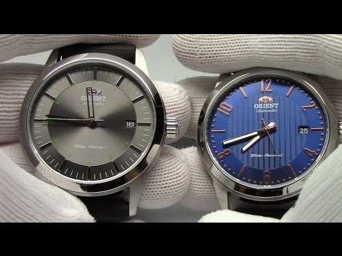 Overview of the new Orient Sentinel and Howard Wristwatches