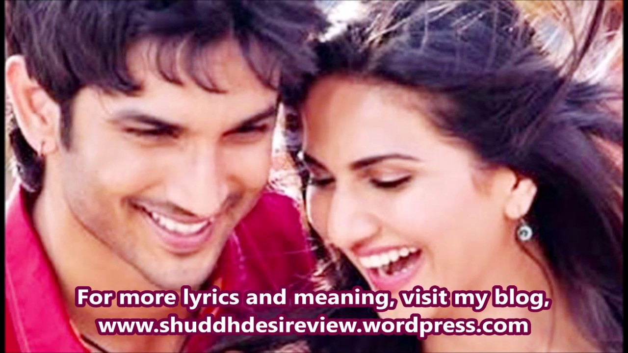 Gulabi Lyrics English Translation, Shuddh Desi Romance