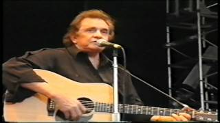 Johnny Cash (Glastonbury 1994) [07]. Delia