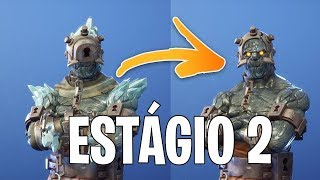 Fortnite: HOW TO UNLOCK EESTAGIO 2 DA * SKIN SECRET the PRISONER