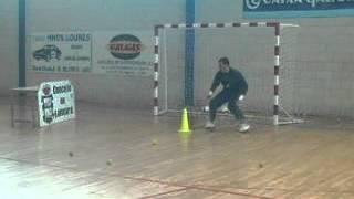 Futsal goalkeeper training 3