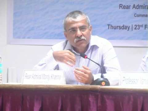 "Goa Maritime Dialogues: Distinguished Lectures on ""Maritime Geopolitics"""