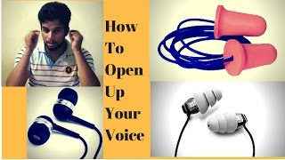 Singing Lessons #15 The Best Trick To Open Up Your Voice | Hindi